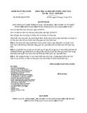 Quyết định số: 09/2016/QĐ-KTNN năm 2017