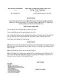 Quyết định số: 2534/QĐ-TTg năm 2016
