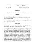 Nghị quyết số: 113/NQ-CP năm 2016
