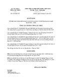 Quyết định số: 2541/QĐ-TCT năm 2016