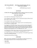 Quyết định số: 2533/QĐ-TTg năm 2016