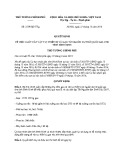 Quyết định số: 2559/QĐ-TTg năm 2016