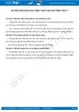 Hướng dẫn giải bài tập bài Tiếng chổi tre SGK Tiếng Việt 2