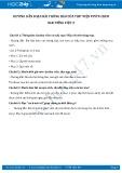 Hướng dẫn giải bài tập bài Thông báo của thư viện vườn chim SGK Tiếng Việt 2