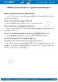 Hướng dẫn giải bài tập bài Bóp nát quả cam SGK Tiếng Việt 2