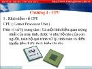 Bài giảng Lắp ráp cài đặt máy tính: Chương 4 - Trung cấp Tây Bắc