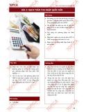 Bài giảng Kinh tế vĩ mô - Bài 2: Hạch toán thu nhập quốc dân