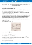 Hướng dẫn giải bài 1,2,3,4,5,6 trang 132 SGK Vật lý 12