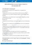 Hướng dẫn giải bài 1,2,3,4,5,6,7 trang 137 SGK Vật lý 12