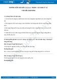 Hướng dẫn giải bài 1,2,3,4,5 trang 125 SGK Vật lý 12