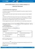 Hướng dẫn giải bài 1,2,3,4,5,6 trang 198 SGK Vật lý 12