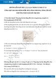 Hướng dẫn giải bài 1,2,3,4,5,6 trang 25 SGK Vật lý 12