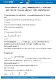 Hướng dẫn giải bài 1,2,3,4,5,6 trang 85 SGK Vật lý 12