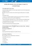 Hướng dẫn giải bài 1,2,3,4,5,7,8,9 trang 173 SGK Vật lý 12
