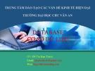 Bài giảng Cơ sở dữ liệu: Chương 4 - GV. Đỗ Thị Kim Thành