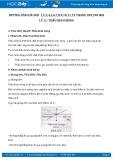 Hướng dẫn giải bài 1,2,3,4,5,6,7,8,9 trang 189 SGK Lý 11