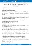 Hướng dẫn giải bài 1,2,3,4,5,6,7,8 trang 212 SGK Vật lý 11