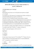 Hướng dẫn giải bài 1,2,3,4,5,6,7 trang 128 SGK Vật ý 11