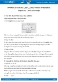 Hướng dẫn giải bài 1,2,3,4,5,6,7,8,9 trang 49 SGK Vật lý 11