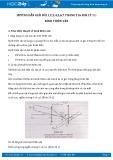 Hướng dẫn giải bài 1,2,3,4,5,6,7 trang 216 SGK Vật lý 11