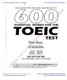 Ebook 600 essential words for the TOEIC Test: Phần 1