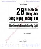 Ebook 28 bài học căn bản tiếng Anh công nghệ thông tin: Phần 1