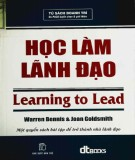 học làm lãnh đạo: phần 1