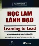 học làm lãnh đạo: phần 2