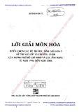 Ebook Lời giải môn Hóa - Huỳnh Văn Út