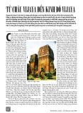 Từ châu Vijaya đến kinh đô Vijaya - Đinh Bá Hòa
