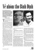 Về nhóm thơ Bình Định - Lâm Bích Thủy