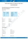 Hướng dẫn giải bài 1,2,3 trang 127 SGK Toán 1