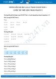 Hướng dẫn giải bài 1,2,3,4,5 trang 50 SGK Toán 1