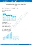 Hướng dẫn giải bài 2,3,4 trang 29 SGK Toán 1