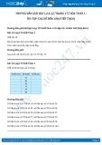 Hướng dẫn giải bài 1,2,3,4,5 trang 175 SGK Toán 1