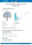 Hướng dẫn giải bài 1,2,3 trang 101 SGK Toán 1
