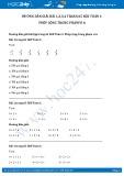 Hướng dẫn giải bài 1,2,3,4 trang 65 SGK Toán 1