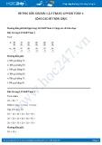 Hướng dẫn giải bài 1,2,3 trang 129 SGK Toán 1