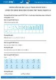 Hướng dẫn giải bài 1,2,3,4,5 trang 89 SGK Toán 1