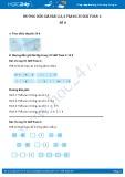Hướng dẫn giải bài 2,3,4 trang 35 SGK Toán 1