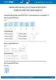 Hướng dẫn giải bài 1,2,3,4,5 trang 60 SGK Toán 1
