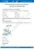 Hướng dẫn giải bài 1,2 trang 148 SGK Toán 1
