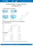 Hướng dẫn giải bài 1,2,3 trang 61 SGK Toán 1