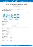 Hướng dẫn giải bài 2,3,4 trang 22 SGK Toán 1
