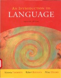 Ebook An introduction to language (7th edition)