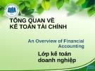 Bài giảng Kế toán tài chính 1: Chương 1 - ĐH Kinh tế TP. HCM