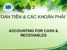 Bài giảng Kế toán tài chính 1: Chương 2 - ĐH Kinh tế TP. HCM