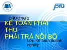 Bài giảng Kế toán tài chính 3: Chương 2 - ĐH Kinh tế TP.HCM
