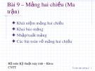 Bài giảng Tin học đại cương: Phần 2 - ThS. Phạm Thanh Bình (5)