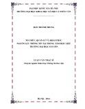 Luận văn Thạc sĩ Khoa học Thông tin thư viện: Tổ chức, quản lý và khai thác nguồn lực thông tin tại Trung tâm Học liệu trường Đại học Sài Gòn